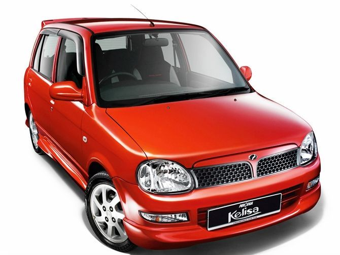 The Best First Car Perodua Kelisa Buying Guide Front Three Quarter