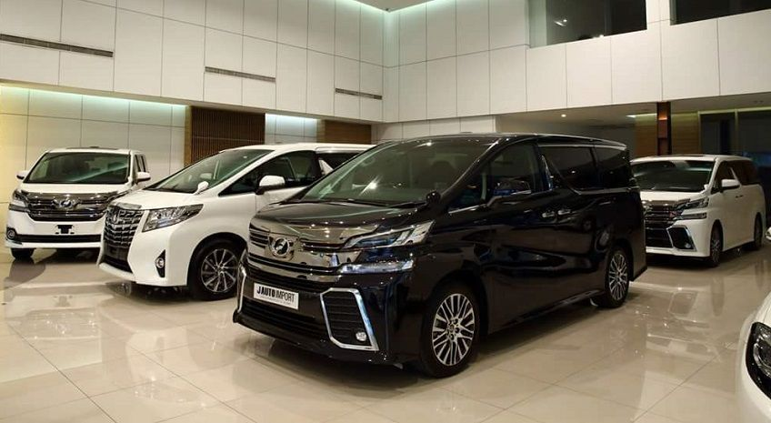 Used Car Markey Malaysia 2021 - Alphard