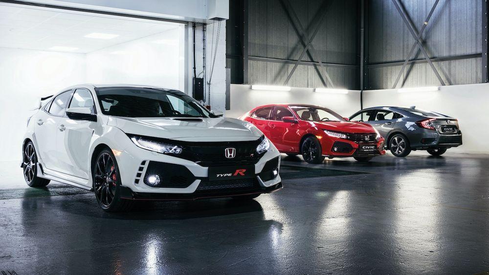 2020 Honda Civic - Various