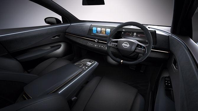 The Ariya Is Nissans Next Big Step For Their EVs Interior