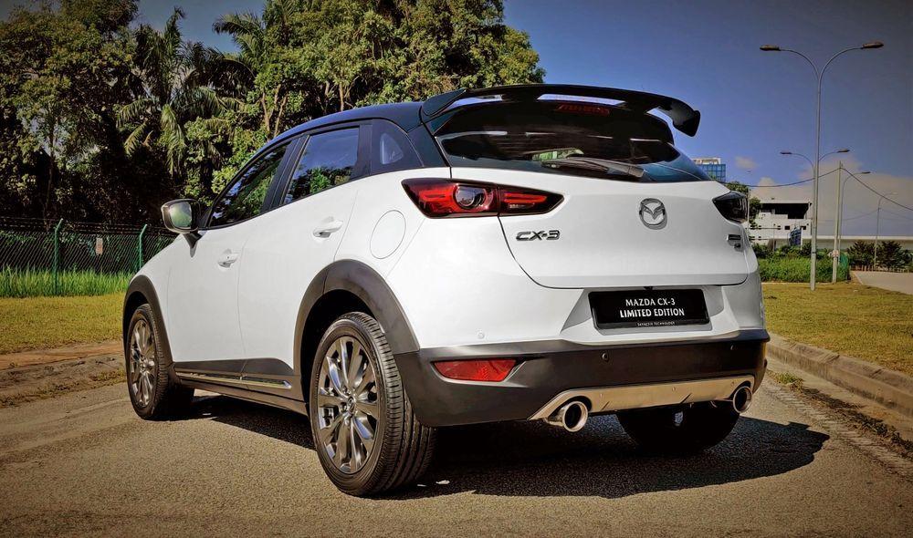 Mazda CX-3 Limited Edition Rear