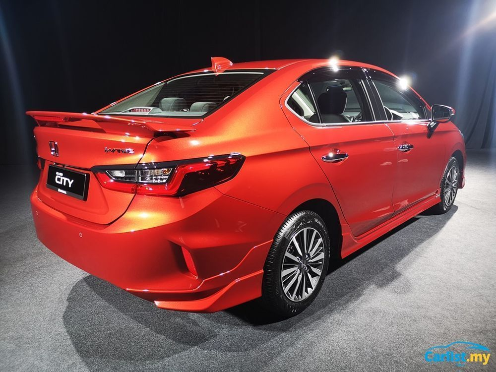 2020 honda city rear