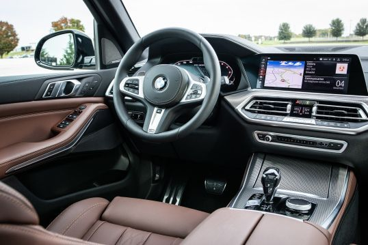 BMW M340i xDrive interior