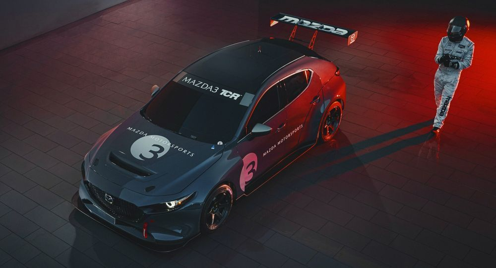 2019 Mazda 3 TCR Concept