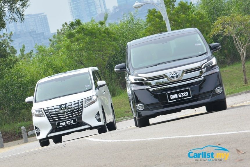 Review: 2016 Toyota Alphard 3 5 & Vellfire 2 5 – Luxury