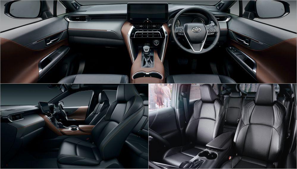 2020 Toyota Harrier - Interior