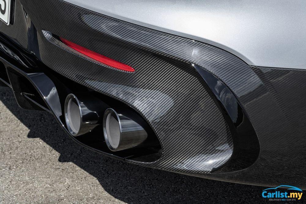 C190 Mercedes-AMG GT Black Series rear diffuser