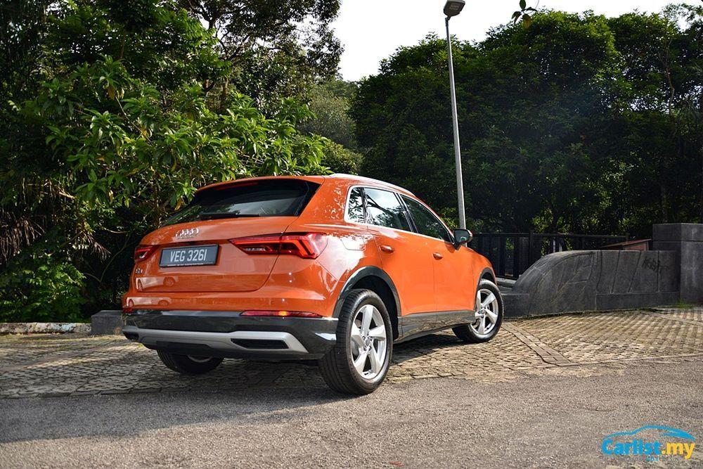 2020 Audi Q3 1.4L TFSI Rear