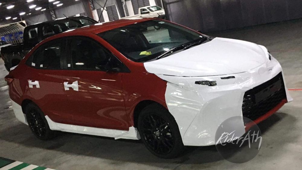 Toyota Vios GR Sport Leaked