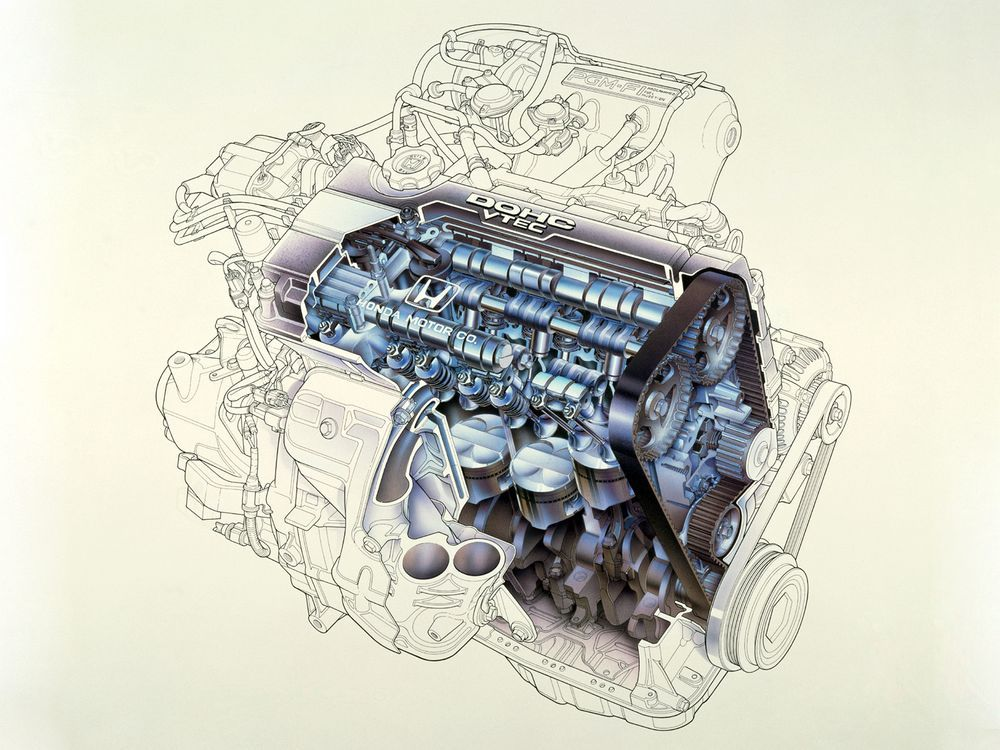 Honda B16A VTEC Engine
