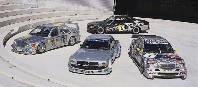Mercedes-AMG Classic racecars