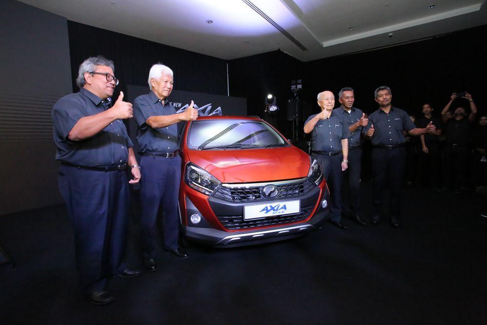 2019 Perodua Axia Style
