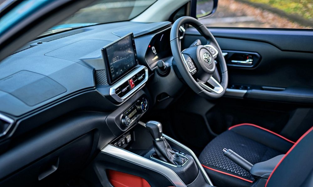 2021 Perodua Ativa First Drive interior