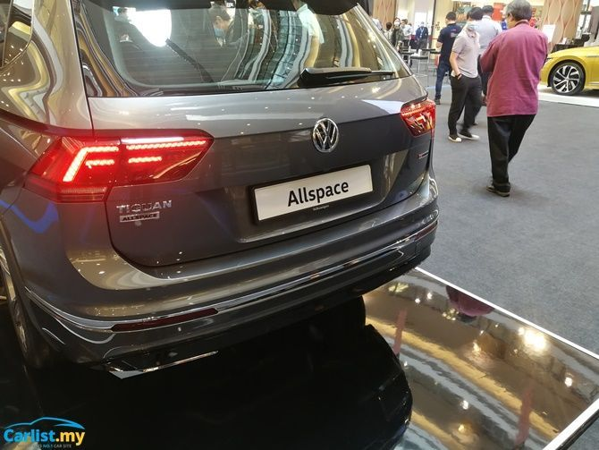 Volkswagen Launches Tiguan Allspace Seven Seater From RM 165000 Boot Closed