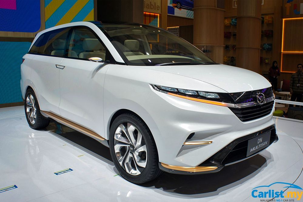 Daihatsu DN Multisix Concept 2021 Perodua Alza