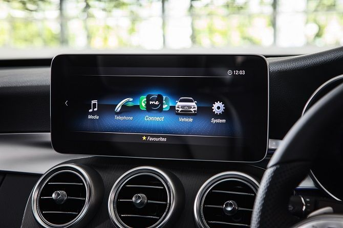 Mercedes Benz Malaysia Launches C 200 AMG Line RM 252k Infotainment