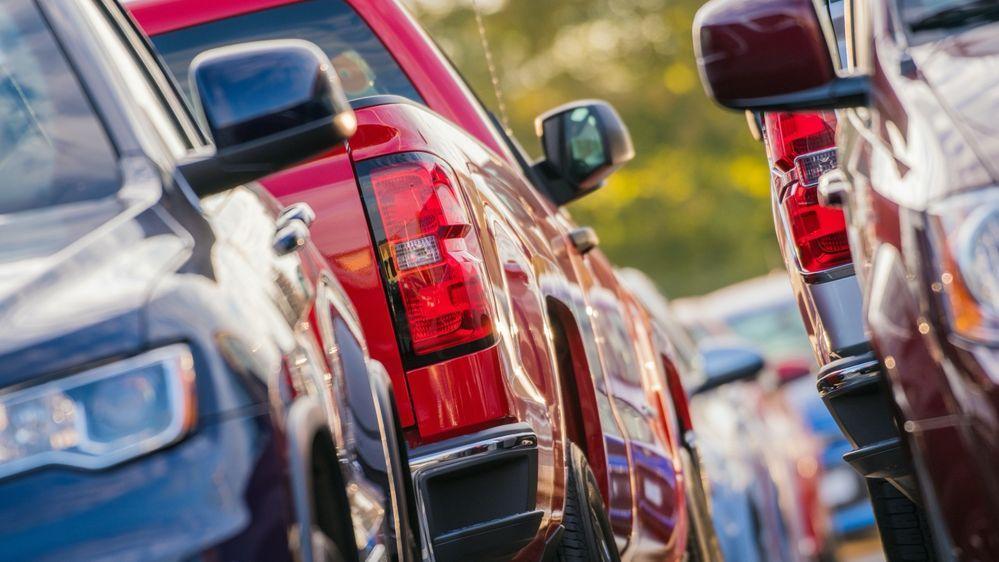 Used Car Sales 2021 - car lot