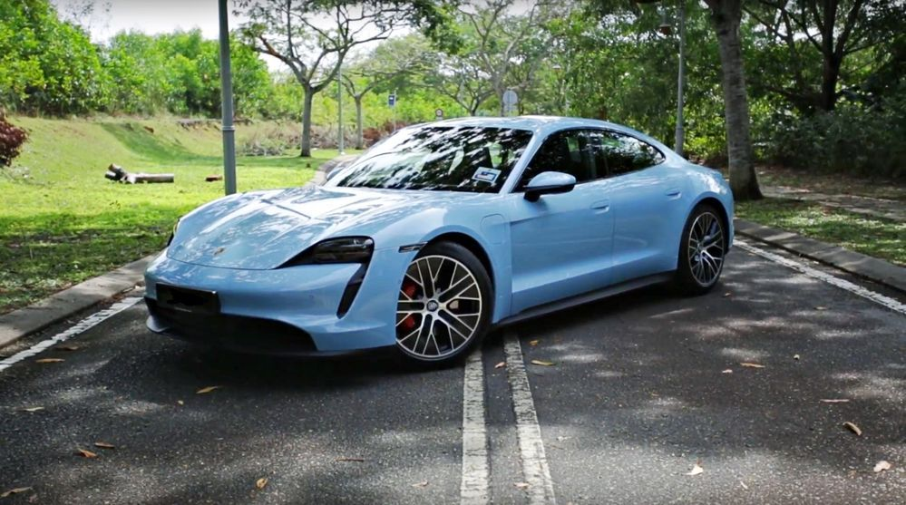 2020 Porsche Taycan 4S - Malaysia