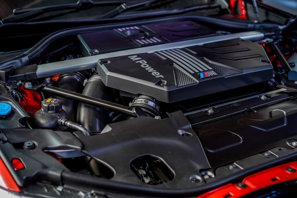 bmw x4m competition engine
