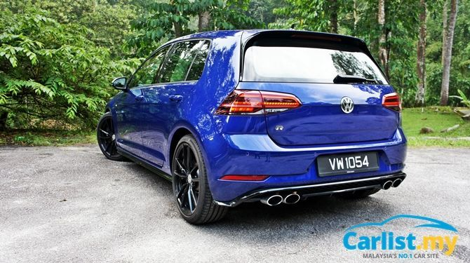 Review Volkswagen Golf R Mk 7 5 Track It On Sunday Commute With It On Monday Reviews Carlist My