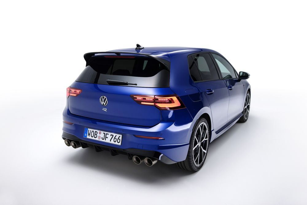 2022 Volkswagen Golf R Rear