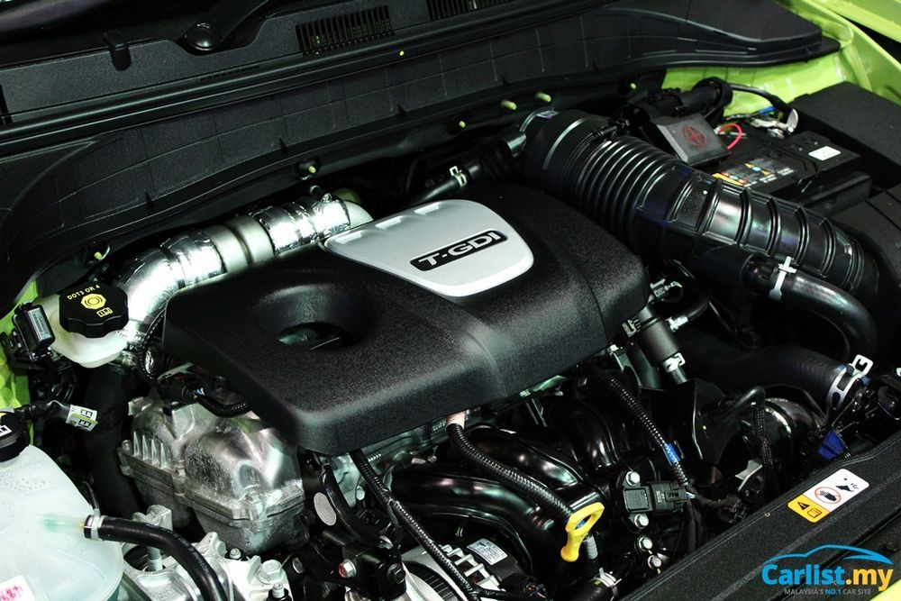 Hyundai Kona 1.6L Turbo Engine