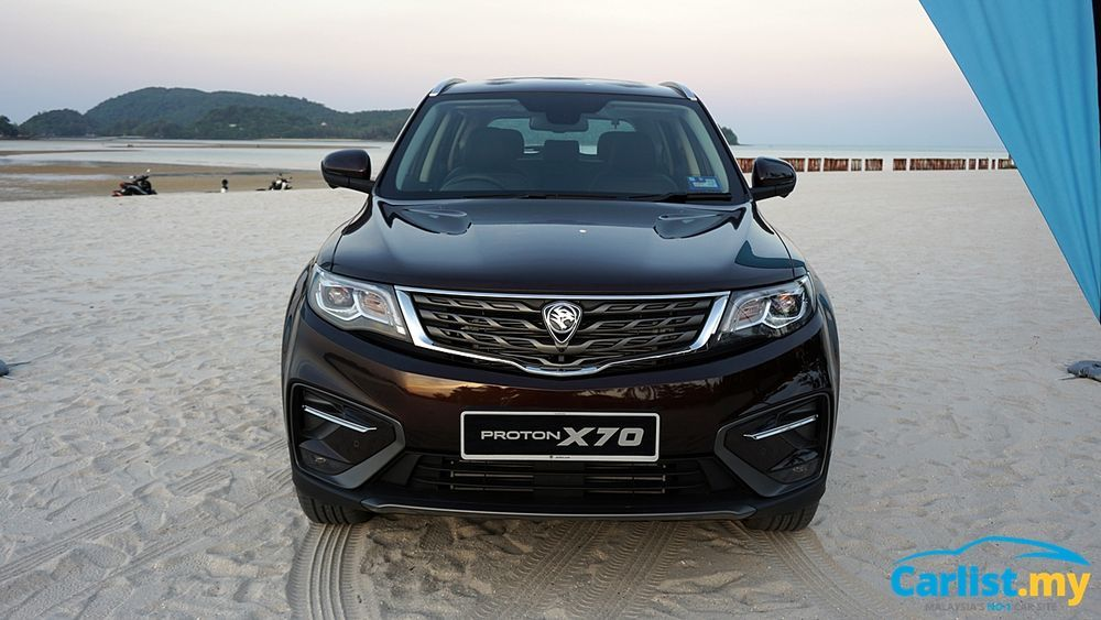 Proton X70 Drive In The Sand