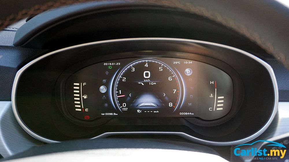 Proton X70 Digital Instrument Cluster