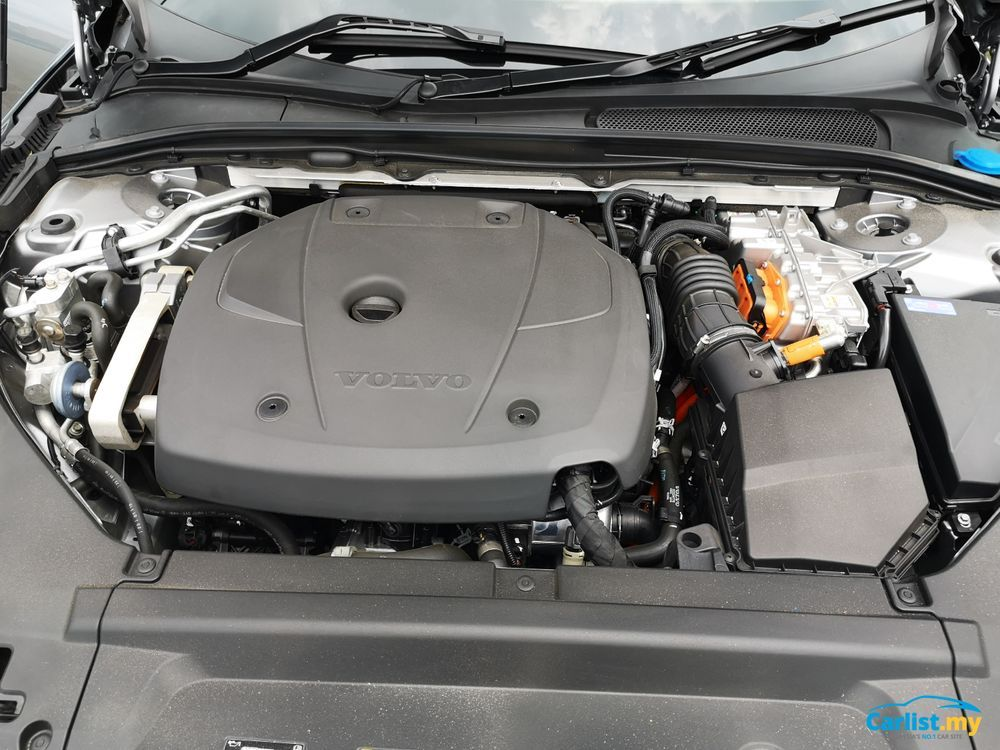 Volvo S90 T8 Inscription Plus Engine