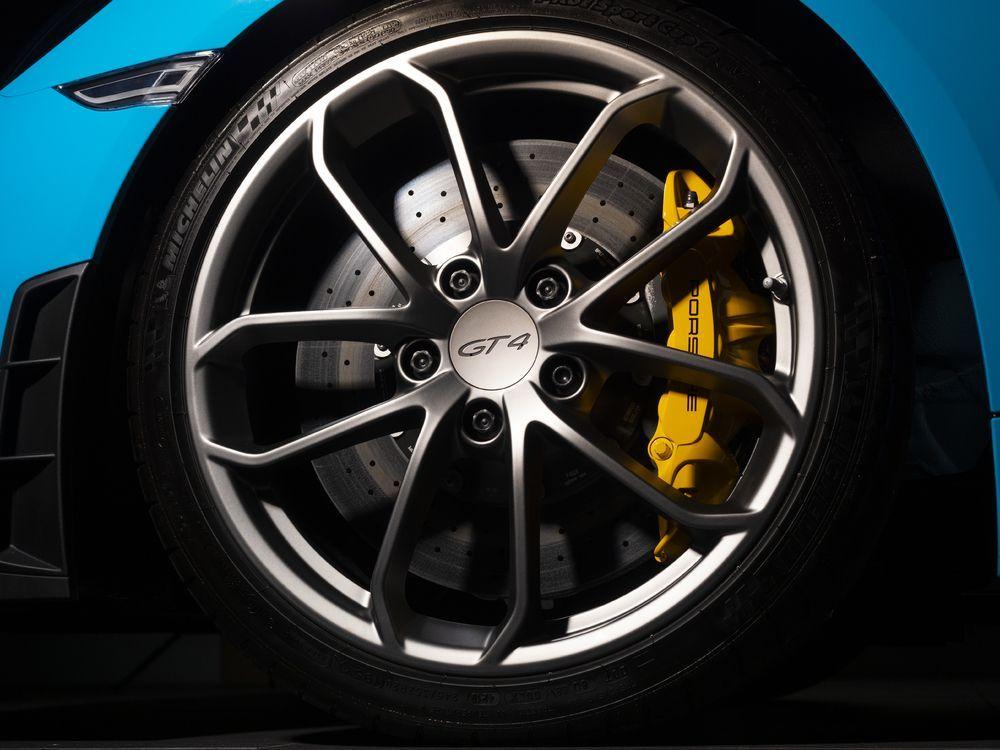Porsche 718 Cayman GT4 Rims