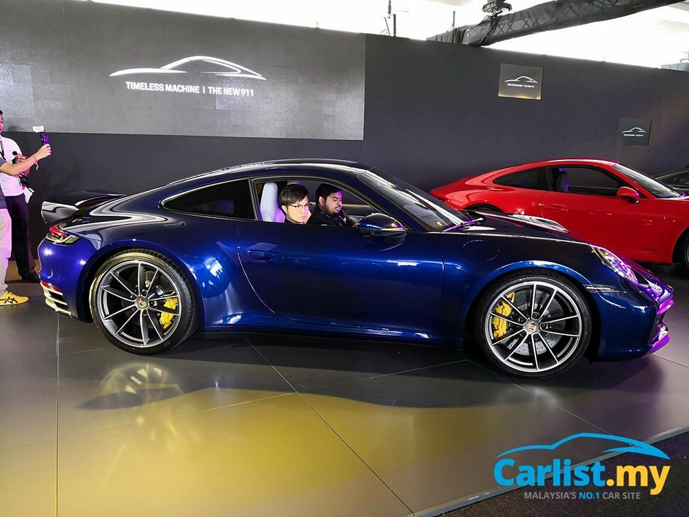 All New 8th Gen Porsche 911 992 Launched In Malaysia From Rm1 15 Million Auto News Carlist My