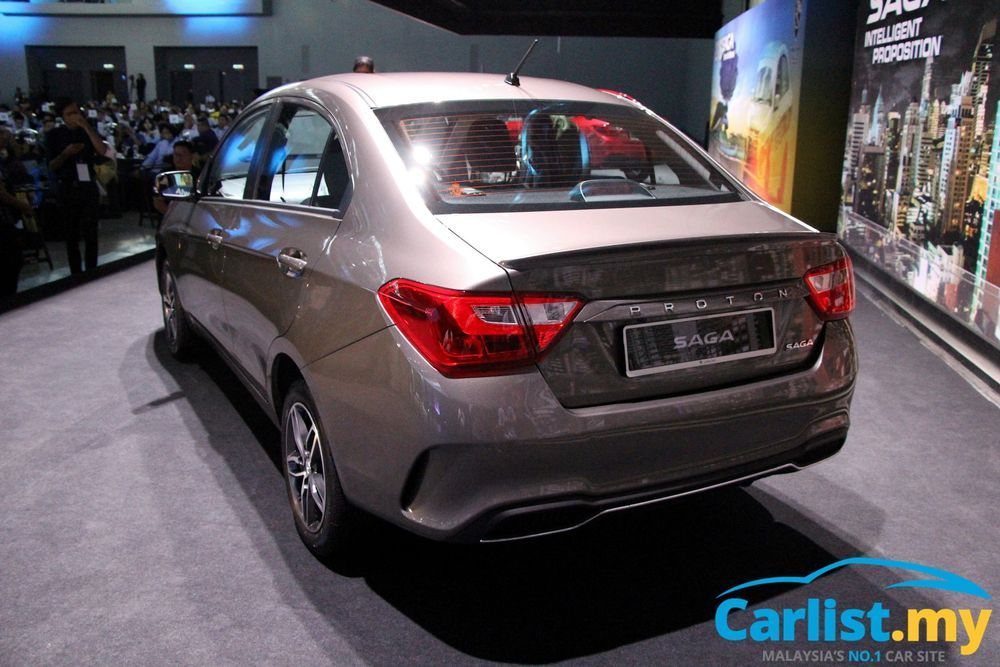 New 2019 Proton Saga Launched 3 Variants From Rm 32 800 Auto News Carlist My