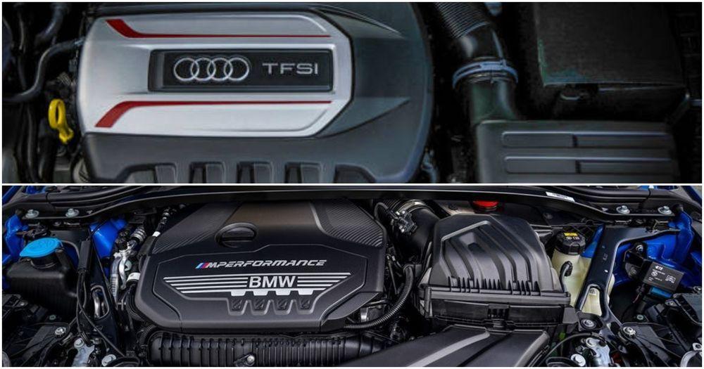 TFSI and BMW performance engine