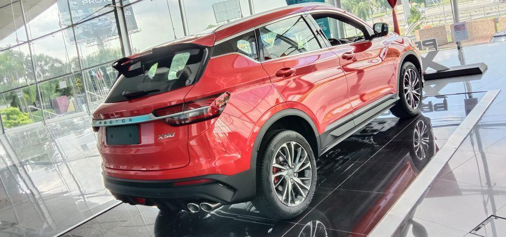 2020 Proton X50 Premium Rear View