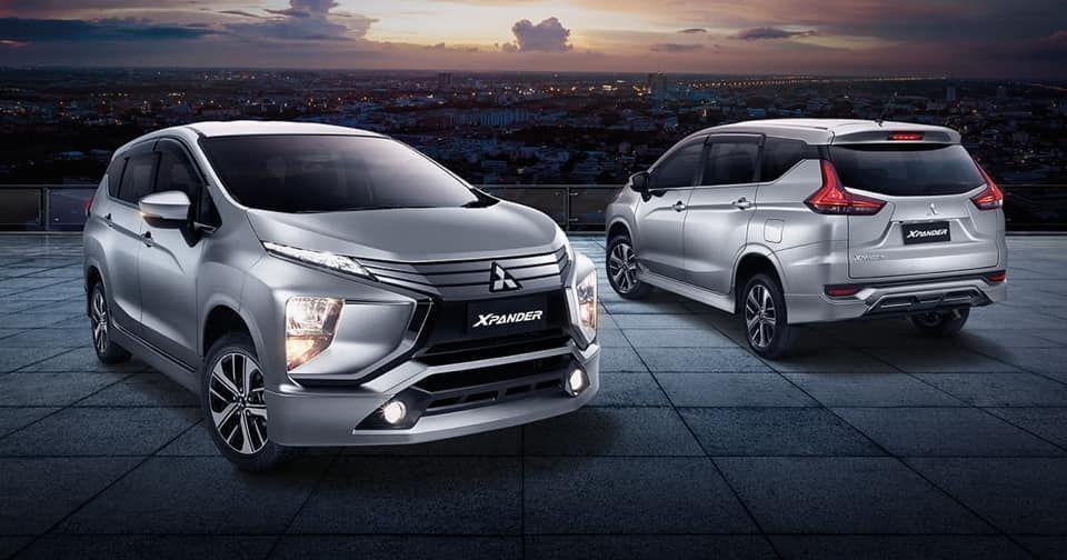 Mitsubishi Xpander front and rear