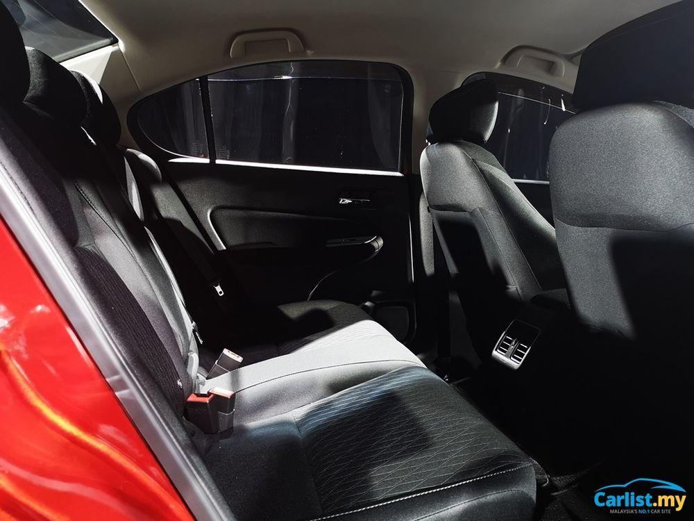 2020 All-New 5th Gen Honda City Rear Interior