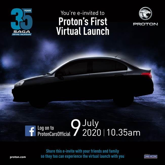 proton to celebrate saga 35th birthday special edition
