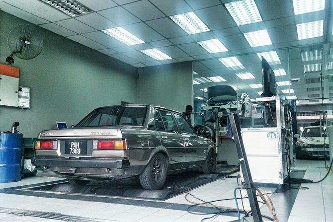 Higher RON Fuel Helps No Matter What Dyno Corolla