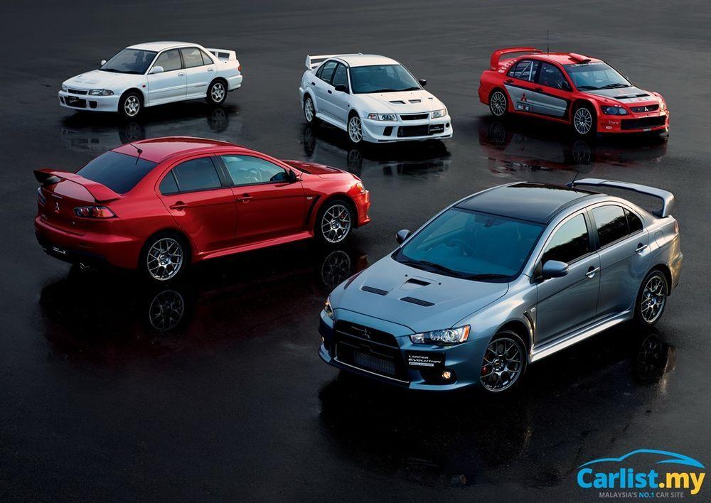 Mitsubishi Lancer Evolution Ralliart Specials
