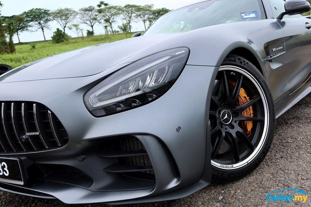 (C190) Mercedes-AMG GTR Headlights