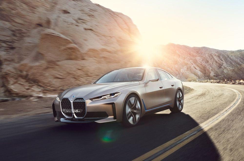 Upcoming BMW i4