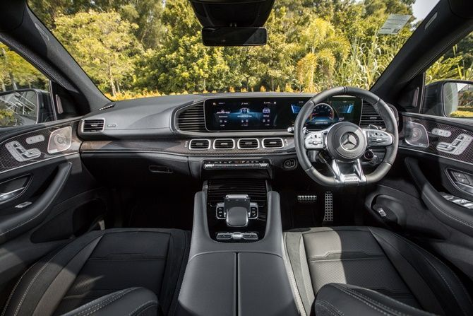 Mercedes Benz Expands Their SUV Range With The GLE Coupe and GLS Interior