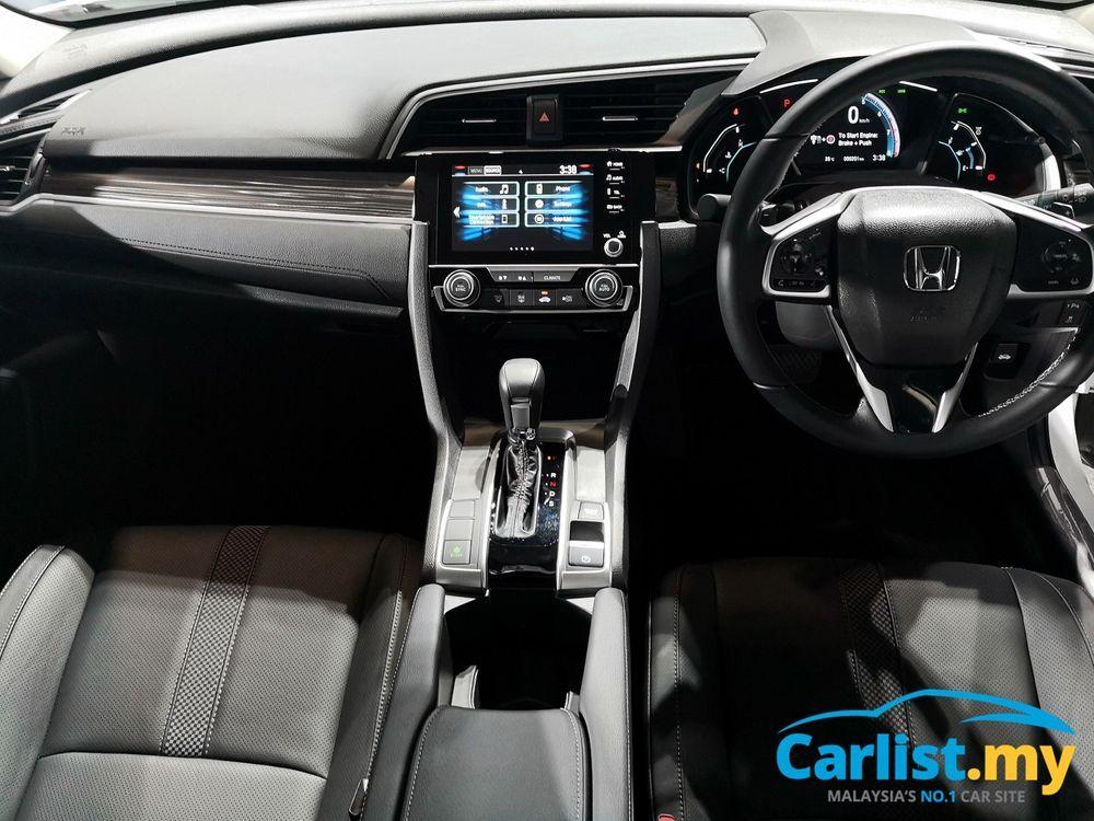 Honda civic is king of C-Segment Civic Launch interior