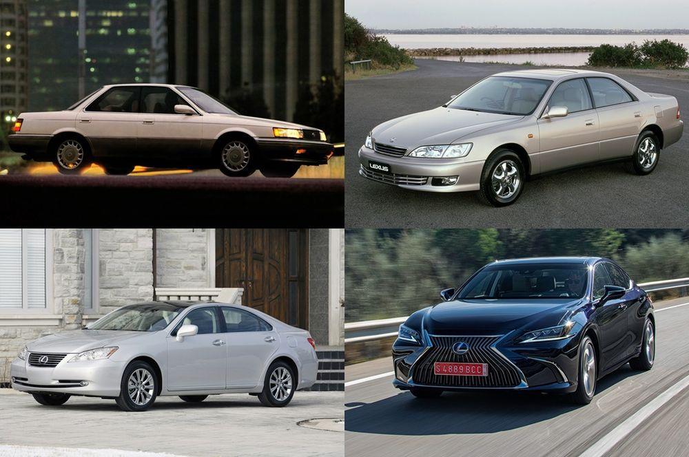 Lexus ES Generations