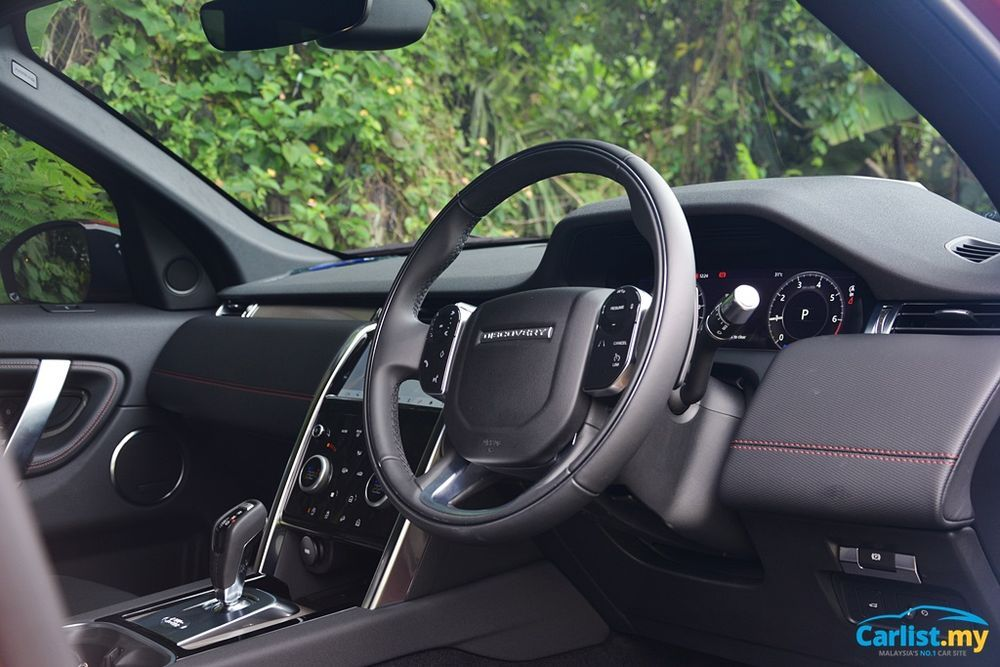 2020 Land Rover Discovery Sport 2.0L R Dynamic interior
