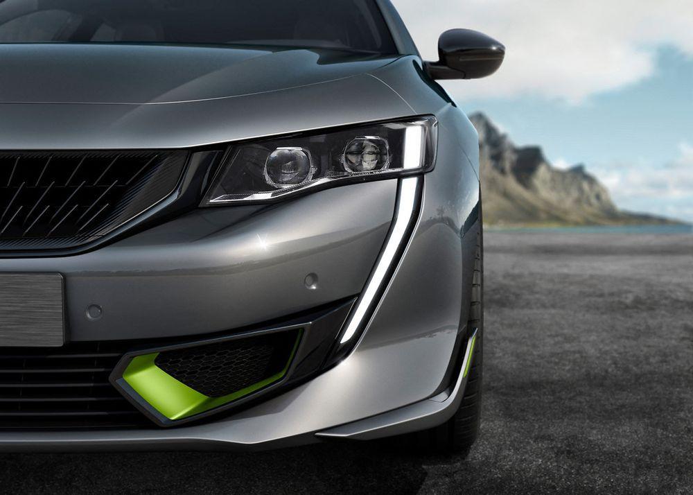 2020 Peugeot 508 Sport Engineered Headlights