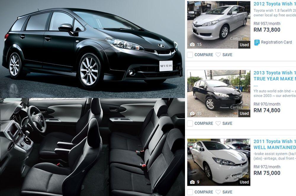 Toyota Wish Carlist