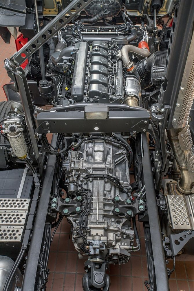 The Award-Winning Actros Is Finally Here Engine