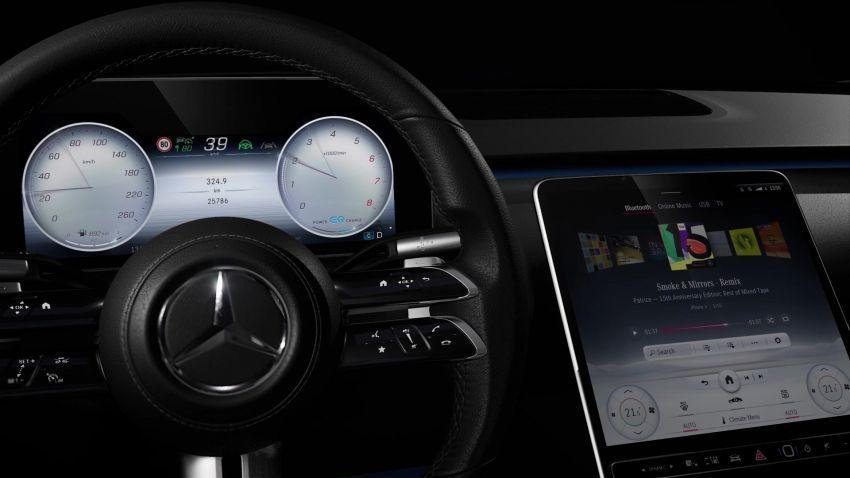 2021 S-Class steering wheel
