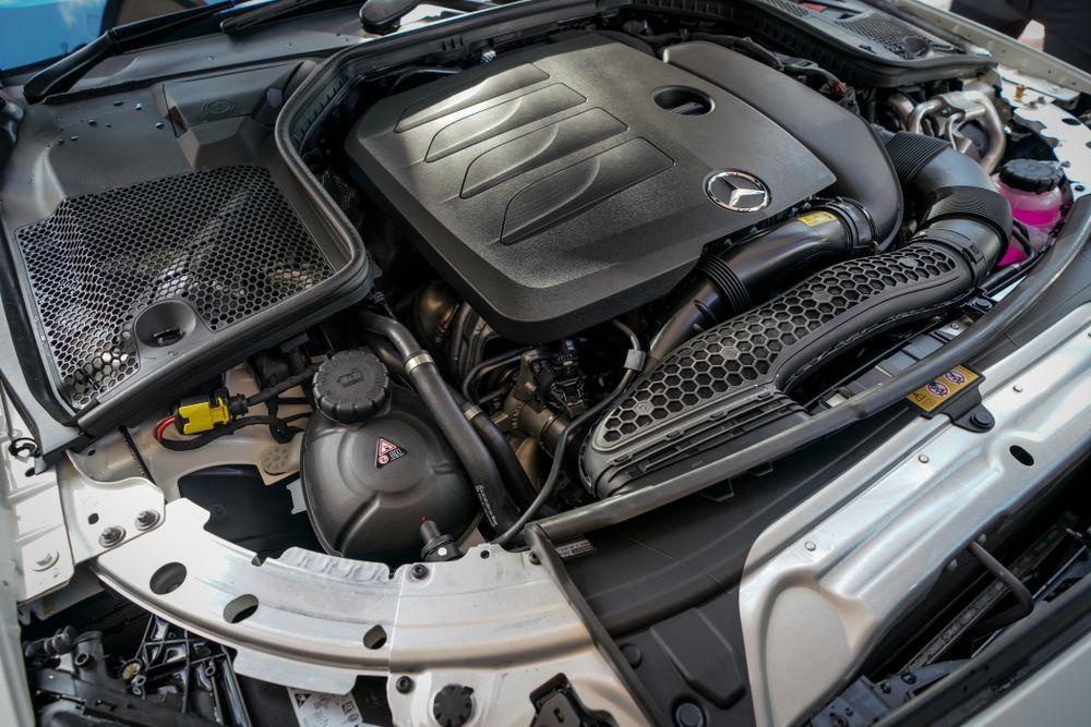 M264 (c205) Mercedes-Benz C200 Coupe engine